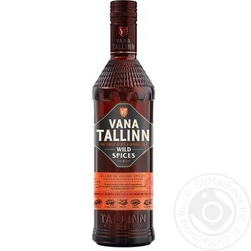 Vana Tallinn Wild Spices liqueur 35% 0.5l