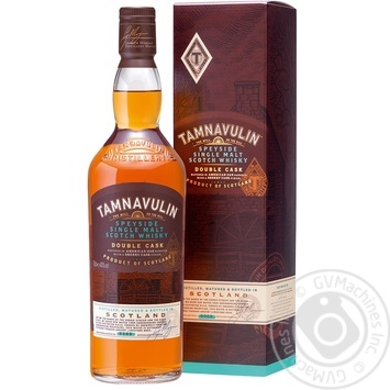 Виски Tamnavulin Speyside Single Malt 40% 0.7л