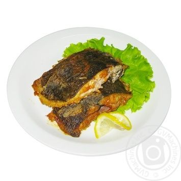 Рыба жареная Камбала
