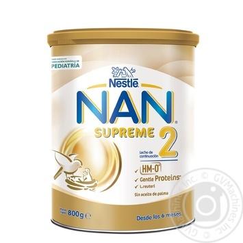 Суміш дитяча Nestle NAN Supreme 2 800г - купити, ціни на Novus - фото 1