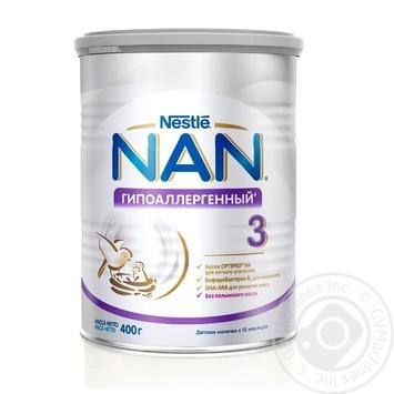 Смесь детская Nestle NAN 3 гипоаллергенная 400г
