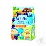 Каша Nestle молочная рисовая с бифидобактериями и витаминами со сливой и абрикосом 230г