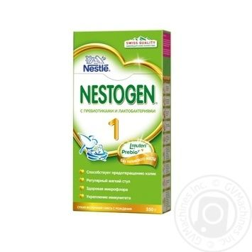 Neastle Nestogen 1 For Babies From Birth  With Prebiotics Dry Milk Mixture 350g - buy, prices for Novus - image 4
