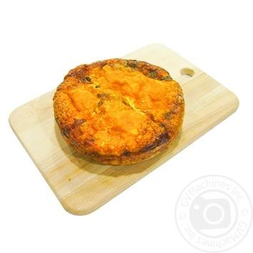 Пиріг з сиром, шпинатом та яйцем - купити, ціни на МегаМаркет - фото 2