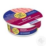 Сыр Молочный шлях Пирятин Янтар плавленый пастообразный с ароматом и вкусом бекона 60% 100г