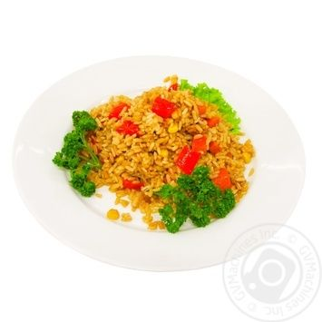 Рис японський з овочами