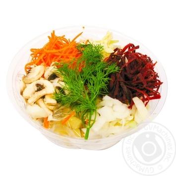 Vegetables ready meals mushroom fresh for borscht 380g