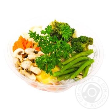 Суп овощной с грибами (набор овощей) 400г