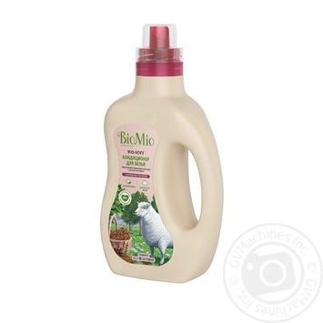 Кондиционер для белья BioMio BIO-SOFT экологичный гипоаллергенный концентриорванный с эфирным маслом корицы и экстрактом хлопка 33 стирки 1л - купить, цены на Novus - фото 2