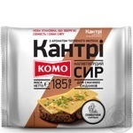 Komo Country semi-hard cheese 50% 185g - buy, prices for MegaMarket - image 1