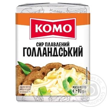 Сыр Комо Голландский плавленый 45% 90г - купить, цены на Фуршет - фото 2