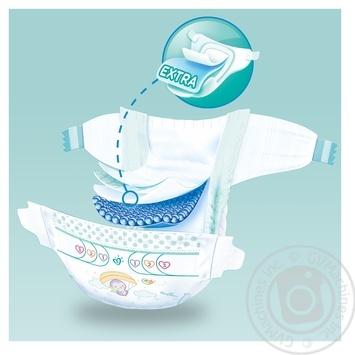 Подгузники Pampers New Baby 2 4-8кг 94шт - купить, цены на Ашан - фото 4