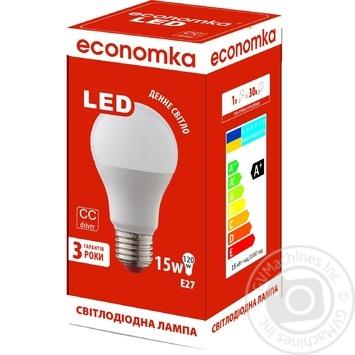 Светодиодная лампа Economka LED A60 15W E 27-42