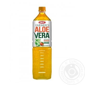 Напиток OKF Farmer's Алоэ Вера со вкусом манго 1,5л