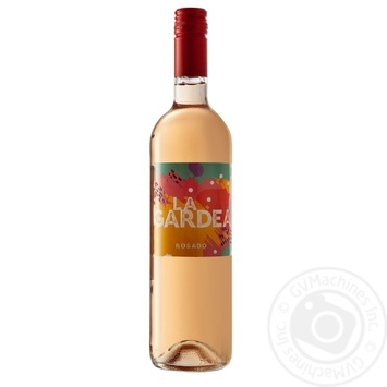 Вино La Gardea Rosado розовое сухое 13,5% 0,75л - купить, цены на Метро - фото 1