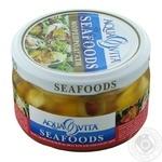 Seafood Aqua vita pickled 180g glass jar