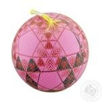 М'яч резиновий C12755 ПТ ассорті 25см 60г