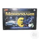 Игра экономическая Ranok-Creative Монополия 5807