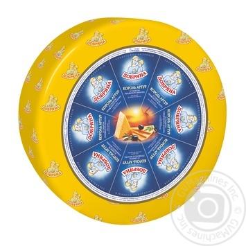 Сыр Добряна Король Артур твердый 50% - купить, цены на Novus - фото 1