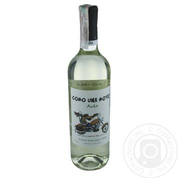 Вино Como Una Moto Airen White Semi-Sweet белое полусладкое 11% 0,75л