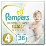 Трусики Pampers Premium Care 4 Maxi 9-15кг 38шт