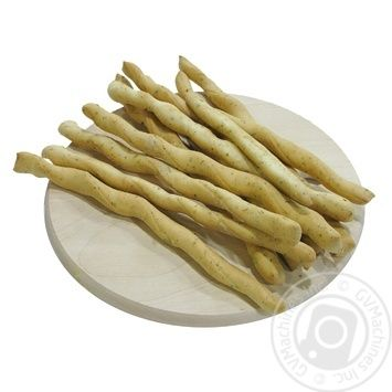 Палочки хлебные Гриссини с прованскими травами