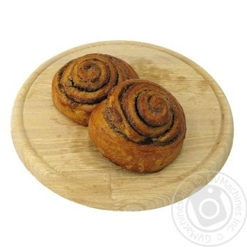 Bun Ravlik with cinnamon - buy, prices for MegaMarket - image 1