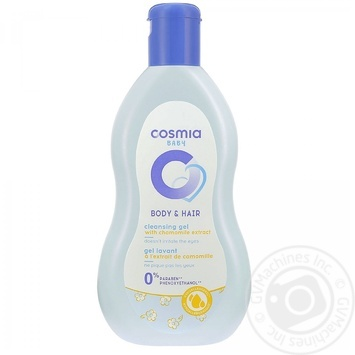 Shampoo-gel Auchan Cosmia with chamomile for shower 250ml