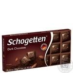 Шоколад Schogеtten темний 100г - купити, ціни на Novus - фото 1