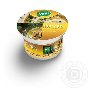 YoFi! Classic With Chickpeas Hummus