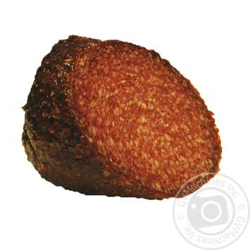Колбаса Eggelbusch Салями в сладком красном перце сырокопченая