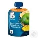 Gerber apple-banana-cereals for children from 6 month puree 90g