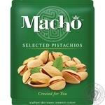 Фісташки Мачо відбірні смажені солені 125г