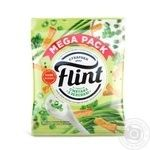 Flint Sour Cream and Greens Flavored Wheat-Rye Crackers 110g