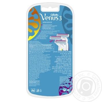 Бритви Simply Venus 3 Plus одноразові 3шт - купити, ціни на Novus - фото 3