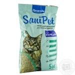 Наповнювач гігієнічний Природа Sani Pet для котів бентонітовий середній 5кг
