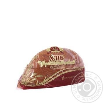 Bread Tsar hlib Ukrainian rye half 475g packaged - buy, prices for Furshet - image 1