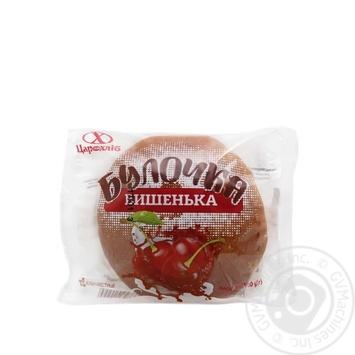 Булочка Цар хліб Вишенька 100г - купити, ціни на МегаМаркет - фото 1