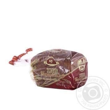 Хліб Цар Хліб Бородинський нарізка 400г Україна - купити, ціни на Novus - фото 1