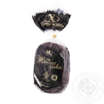 Хлеб Царь Хлеб Житне Дыво 400г - купить, цены на Novus - фото 1