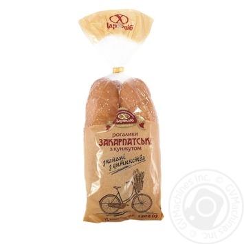 Рогалики Царь хлеб Закарпатские с кунжутом 2шт 120г