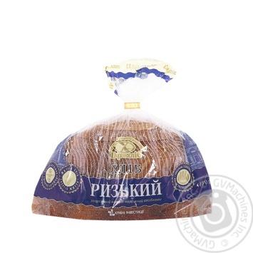 Bread Tsar hlib Ryzhskyy rye-wheat half 400g packaged