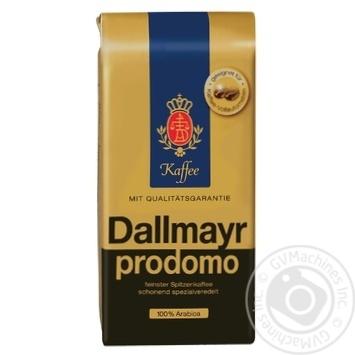 Кофе Далмаер Продомо 100% арабика в зернах 500г