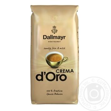 Coffee beans Dallmayr Crema d'Oro 100% Arabica 1kg