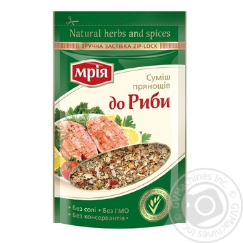 Смесь пряностей Мрия к рыбе 10г - купить, цены на Novus - фото 1