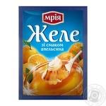 Желе Мрія зі смаком апельсина 90г