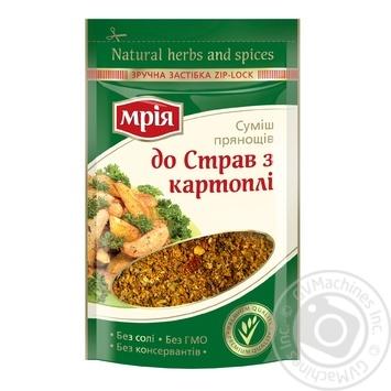 Смесь пряностей Мрия К блюдам из картофеля 12г - купить, цены на Novus - фото 1