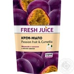 Крем-мыло Fresh Juice Passion fruit & Camellia 460мл