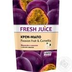 Fresh Juice Passion fruit & Camellia Cream soap 460ml