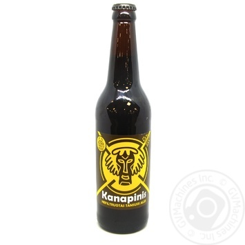 Kanapinis unfiltered dark beer 5,3% 0,5l - buy, prices for Novus - image 1